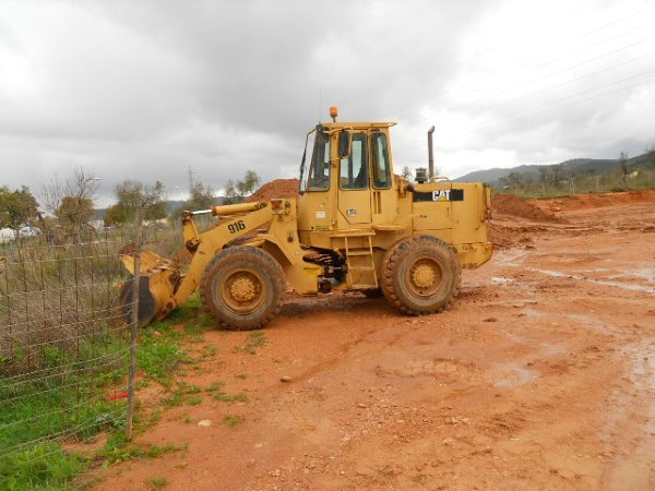 CAT 916 Radlader